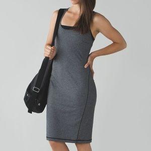 Lululemon Go For It Dress Open Back Tank Stripe 4
